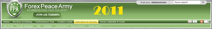 Forex Peace Army | Forex Test and Forex News Trading 2011