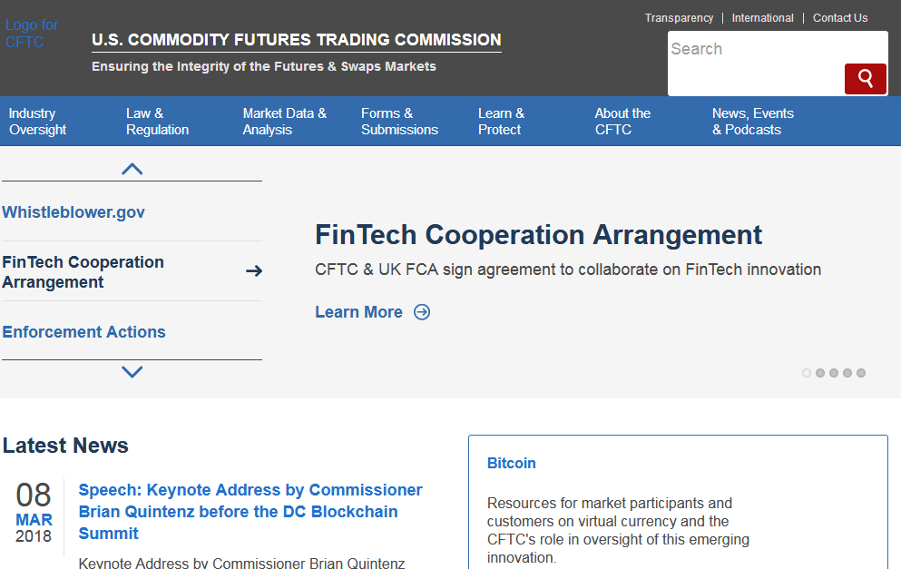 Forex Trading in the U.S. - CFTC website