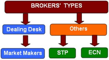 Broker types – Market makers, STP Brokers and ECN brokers - Forex School