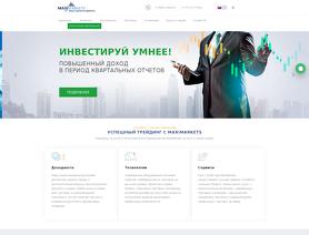 MaxiMarkets.org (.com, .club, .ru)