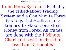 1minForexSystem.com (Jack Johnson)
