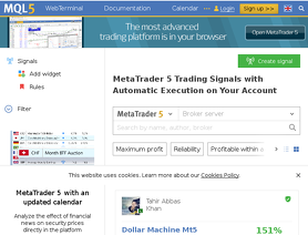 MQL 5 | MQL5 com reviews and ratings by forex Peace Army