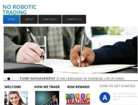 NoRoboticTrading.com