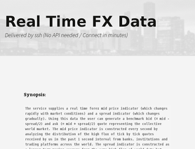RTFXD.com (RealTimeFXData)