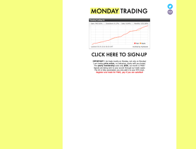 MondayTrading.com