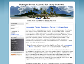 Managed-Forex-Accounts.com (Managed-Currency-Accounts.com, Forex-Investors.info, Mark Shafer)