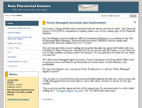 AxisFinancialSource.com