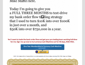 FxCashFlowMachine.com (Mike Maffei, CurrencyCashFlowMachine)