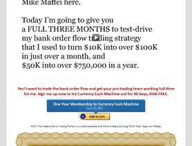 FxCashFlowMachine.com (Mike Maffei, CurrencyCashFlowMachine)