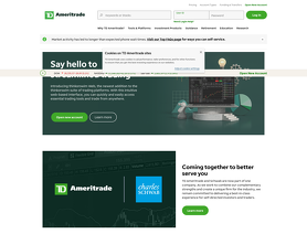 Forex requirements td ameritrade