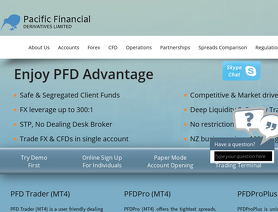 PFD-NZ | Pacific Financial Derivatives Limited | PFD-NZ com