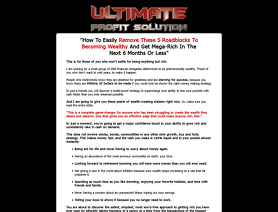 UltimateProfitSolution.com