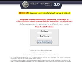 Triad trading formula forex peace army trade news forex market