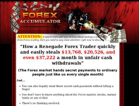 ForexAccumulator.com (Paul Liburd )