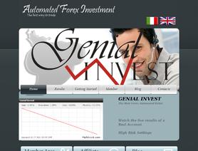 Genial invest forex форекс бесплатным депозитом 15