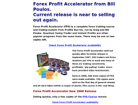 Forexprofitaccelerator.com (Bill Poulos)