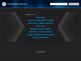 Forex trend console review