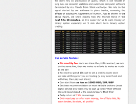 F managed forex accounts