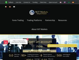 SGTMarkets.com (Sterling Gent Trading Ltd)
