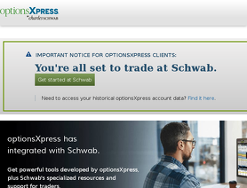 OptionsXpress Review   Best Online Stock Trading